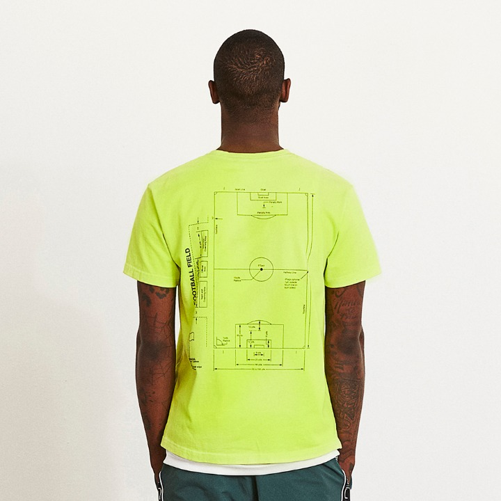 GOALSTUDIO FOOTBALL FIELD TEE
