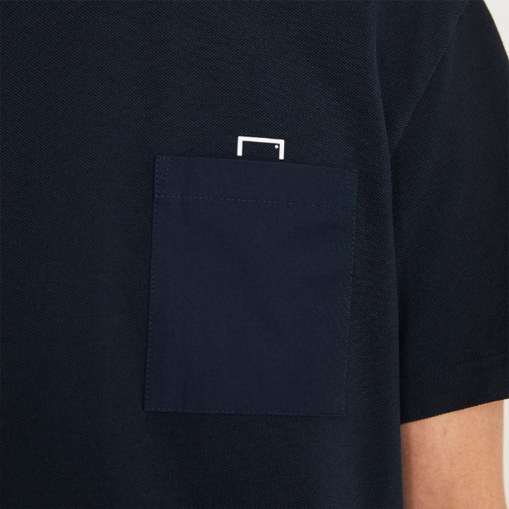 GOALSTUDIO SMALL LOGO POCKET TEE