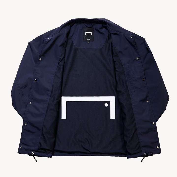 GOALSTUDIO SMALL LOGO COACH JACKET