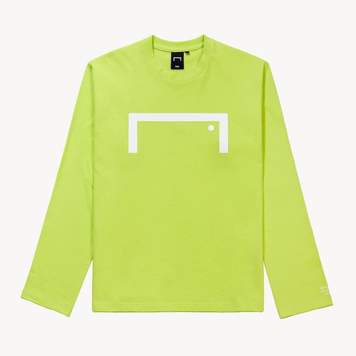 GOALSTUDIO BIG LOGO LONG SLEEVE TEE