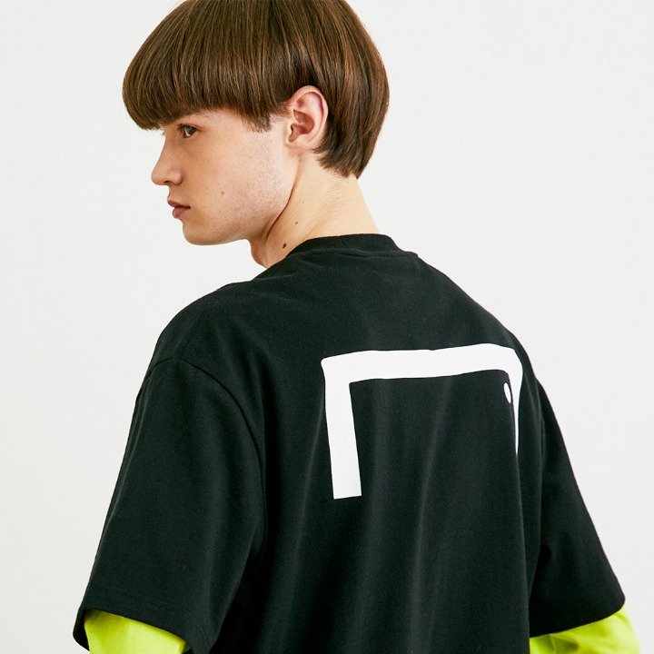 GOALSTUDIO BACK BIG LOGO TEE (LOOSE FIT)