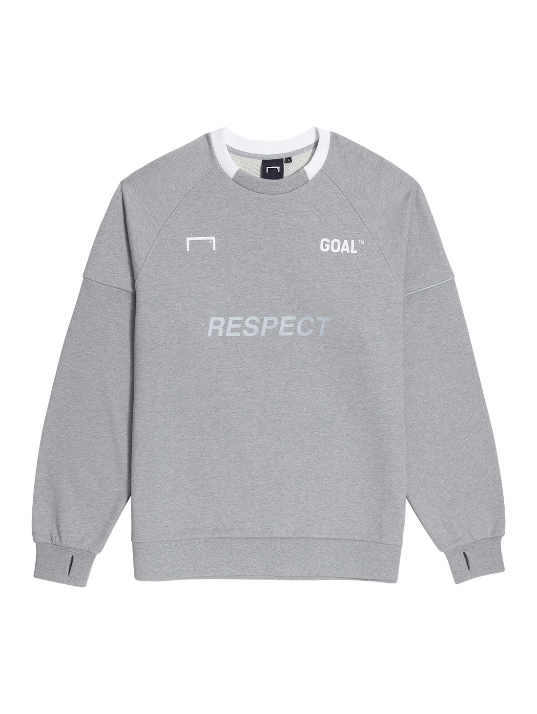 GOALSTUDIO RESPECT SWEATSHIRT - GREY