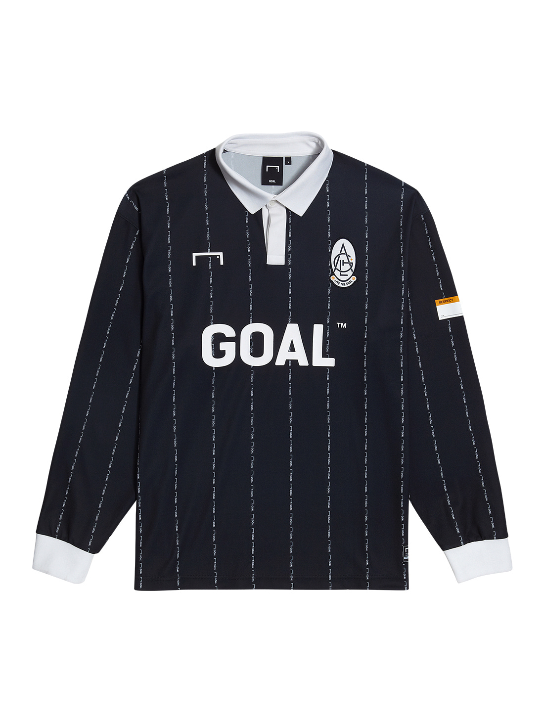GOALSTUDIO PLAYER EMBLEM JERSEY - BLACK