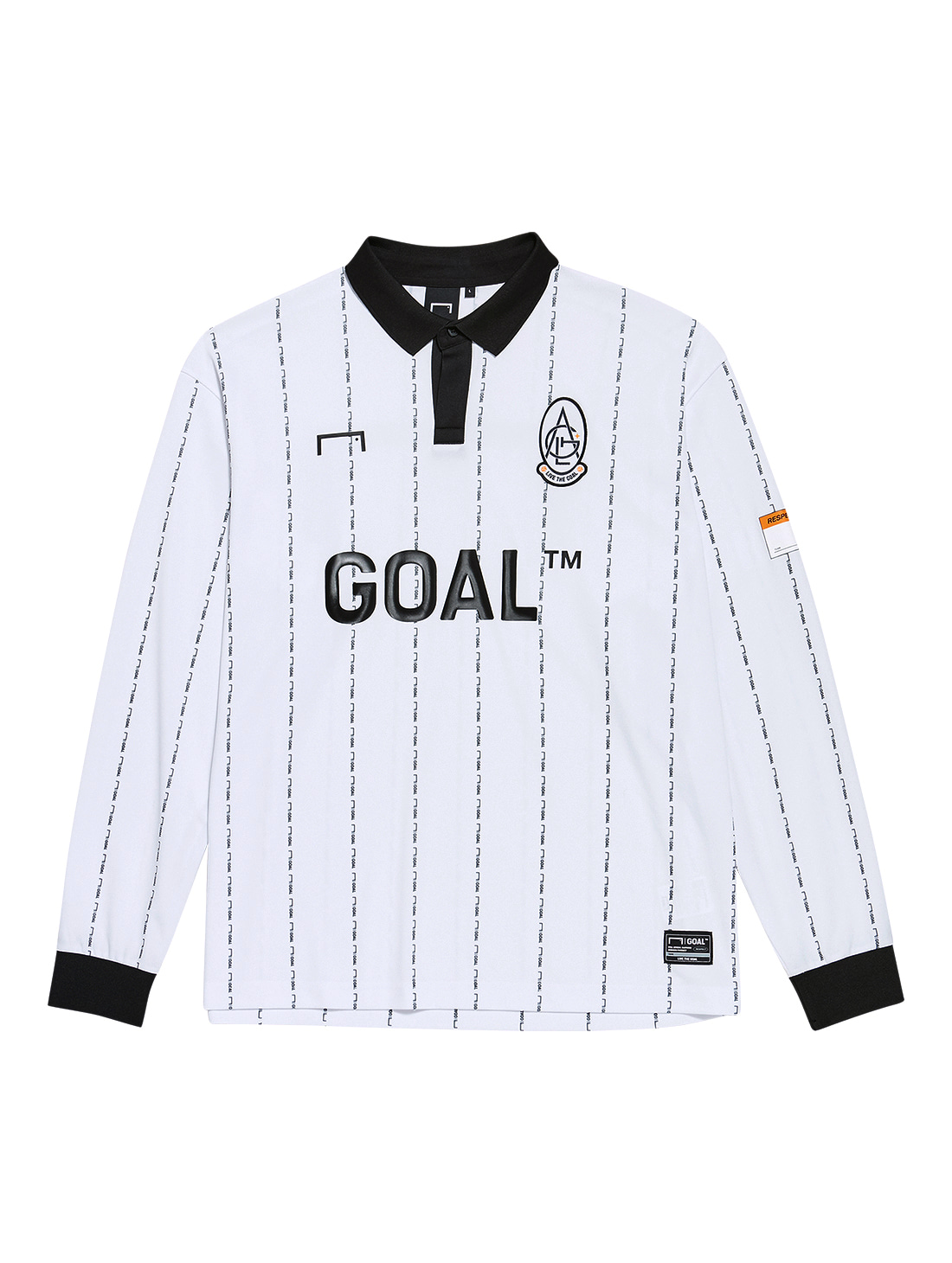 GOALSTUDIO PLAYER EMBLEM JERSEY - WHITE