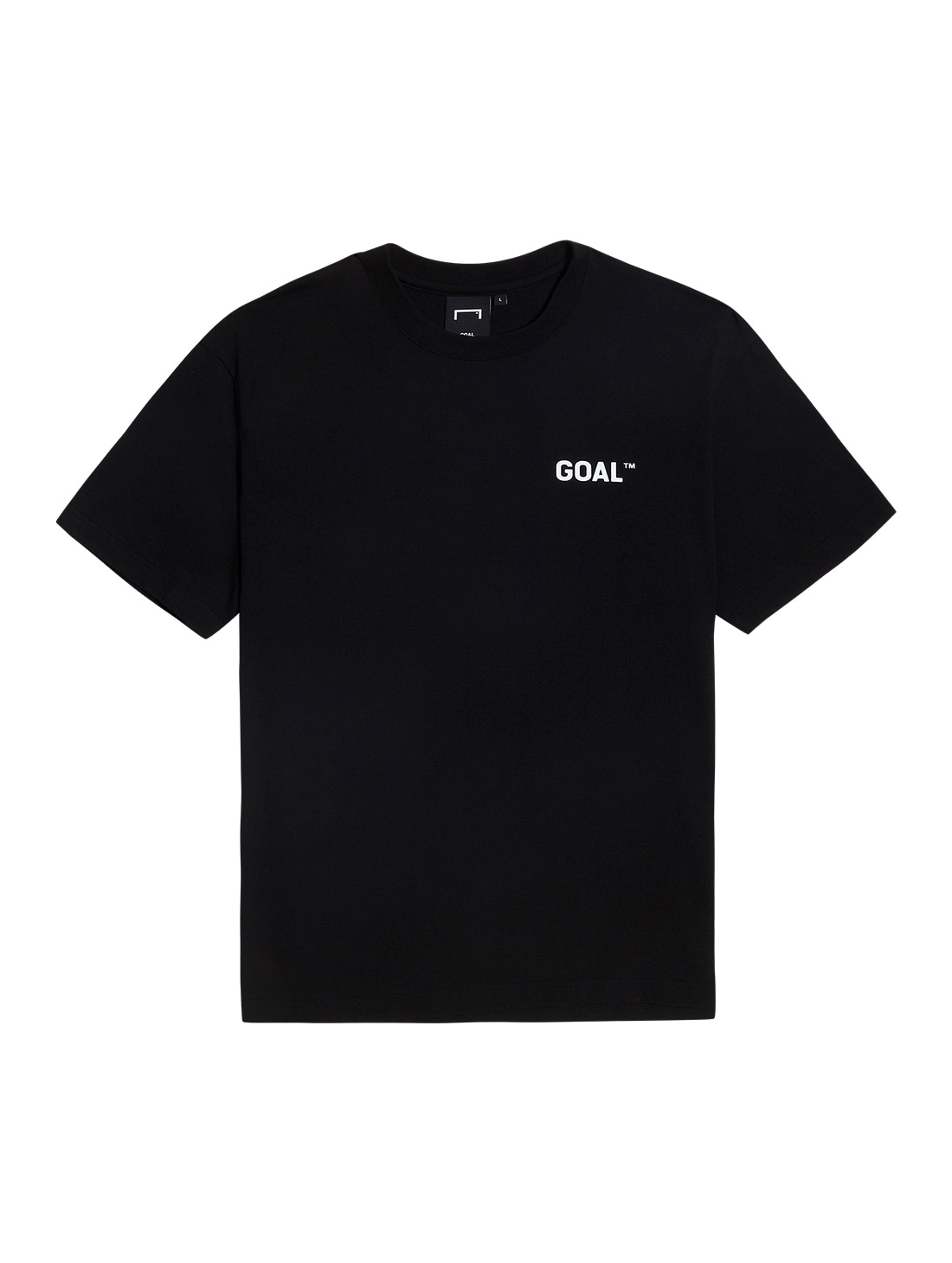 GOALSTUDIO TEXT LOGO TEE - BLACK