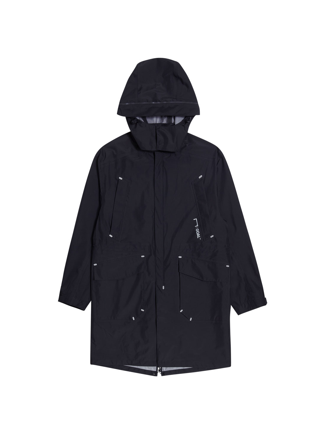 GOALSTUDIO LONG FISHTAIL WIND JACKET