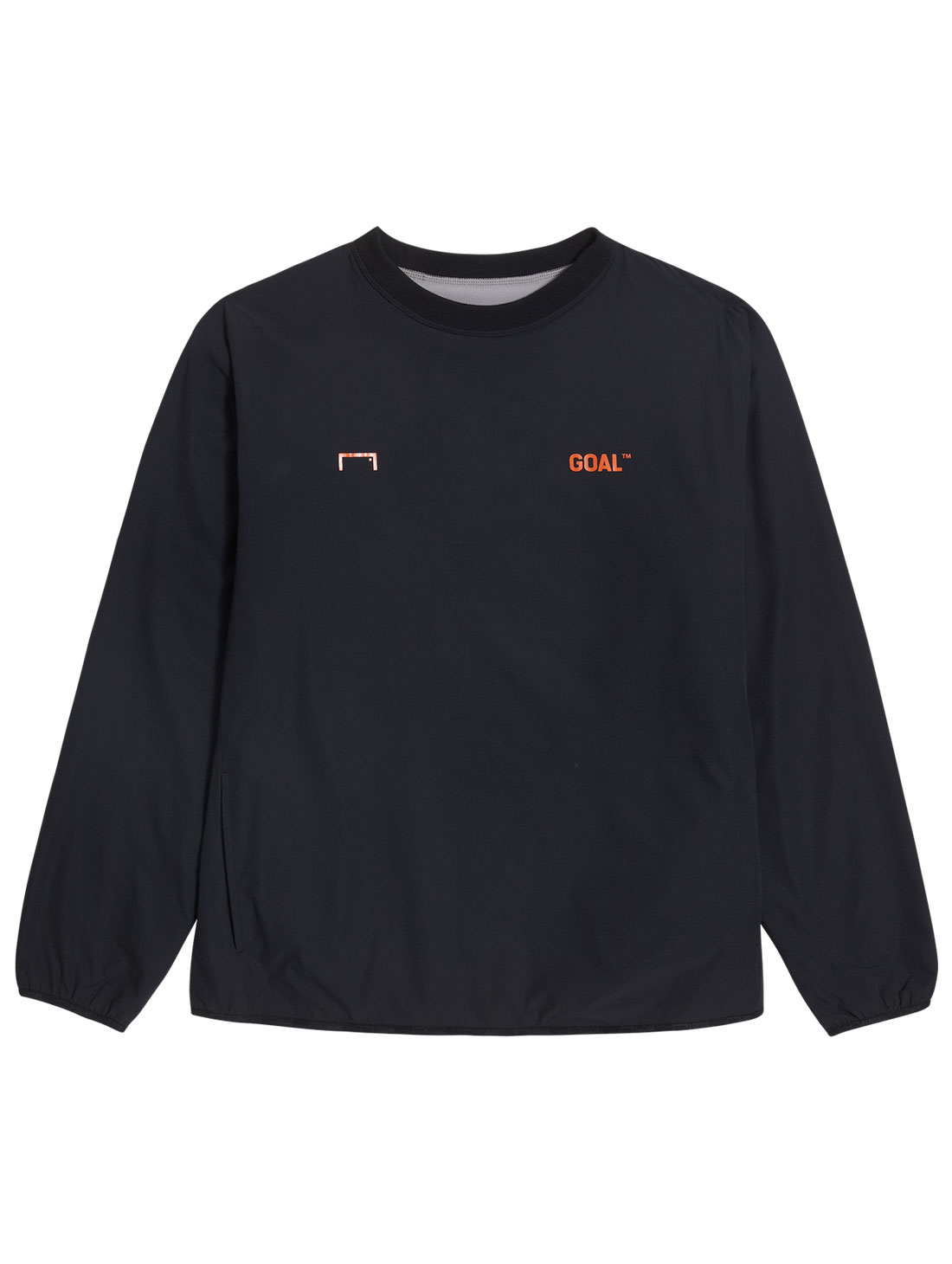GOALSTUDIO REVERSIBLE PULLOVER - GREY/BLACK
