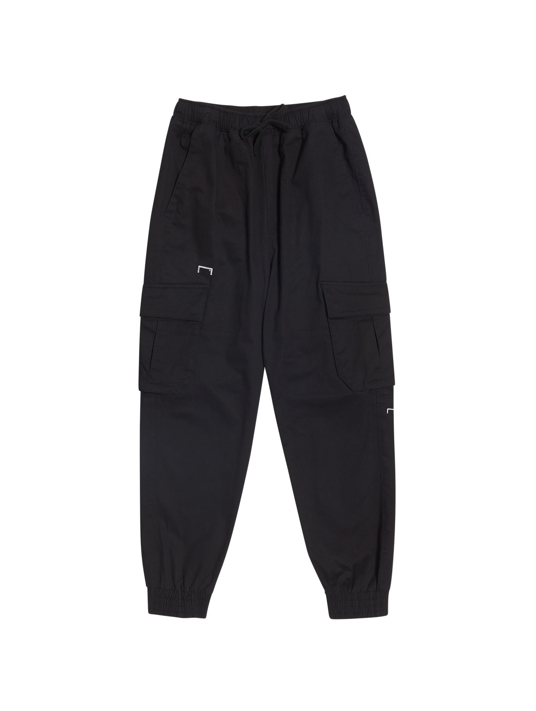 GOALSTUDIO CARGO JOGGER PANTS - BLACK