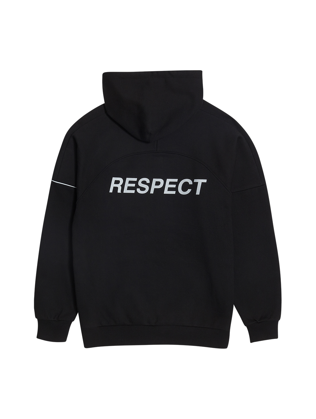 GOALSTUDIO RESPECT HOODIE - BLACK