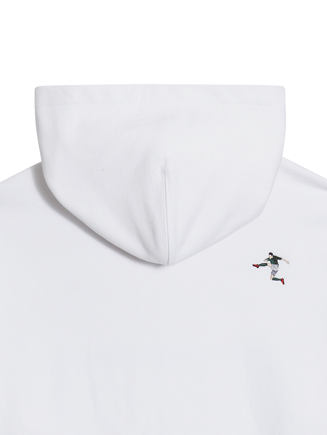 GOALSTUDIO STRIKER HOODIE - WHITE