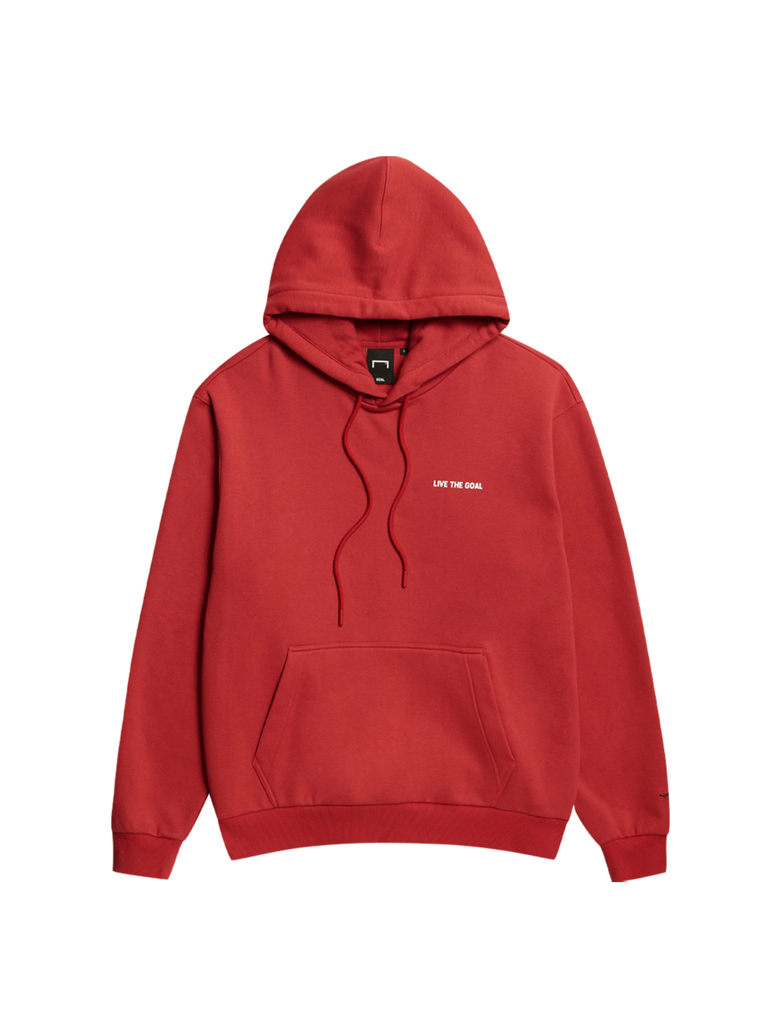 GOALSTUDIO LIVE THE GOAL HOODIE - RED