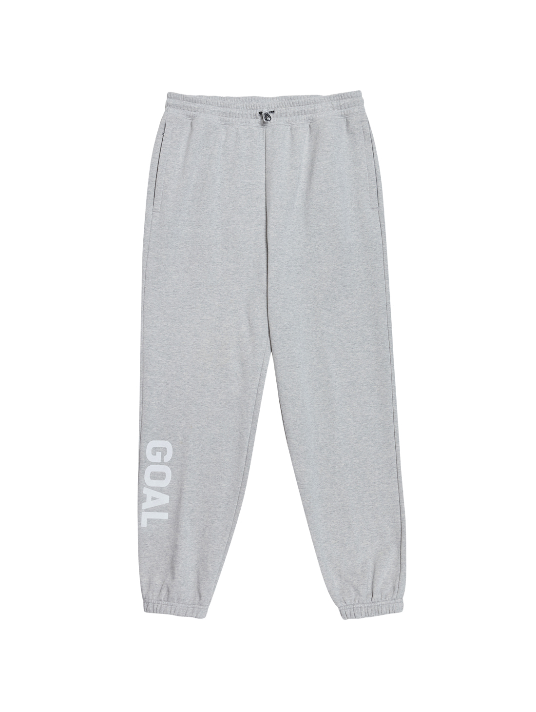 GOALSTUDIO FLOCKING KNIT JOGGER PANTS - GREY