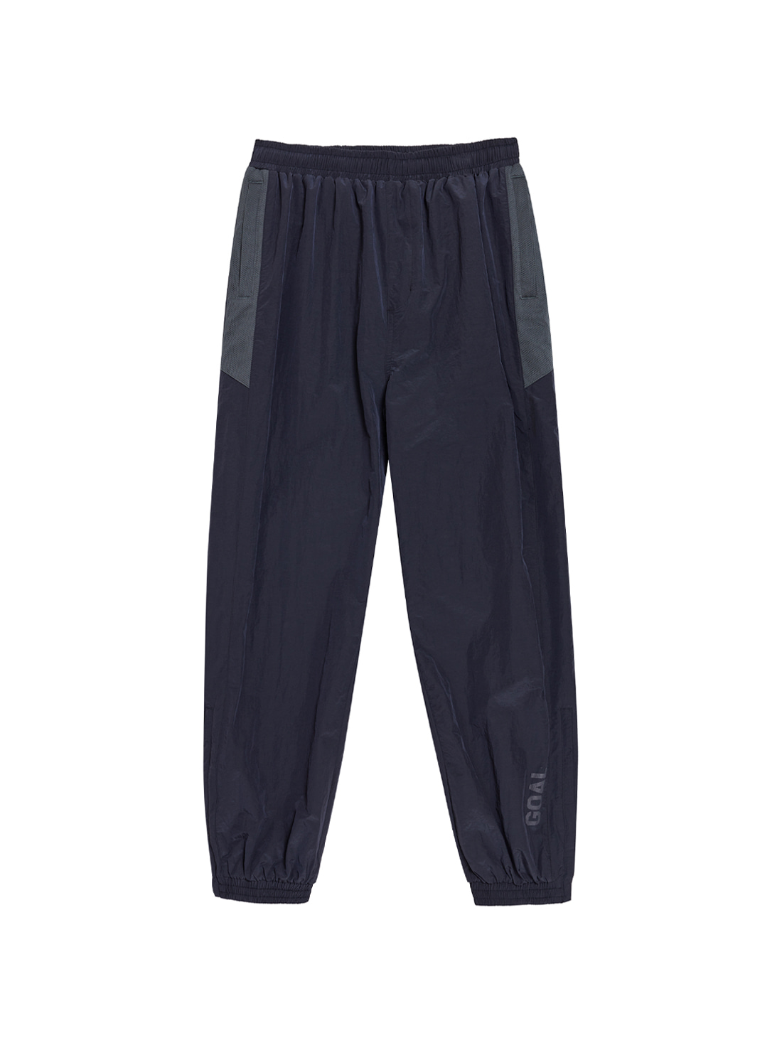 GOALSTUDIO WARMUP PANTS - NAVY