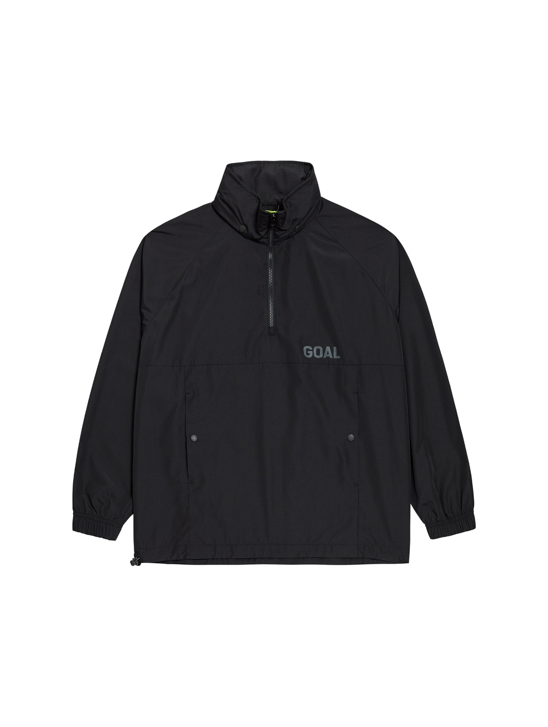 GOALSTUDIO LTG ANORAK - BLACK