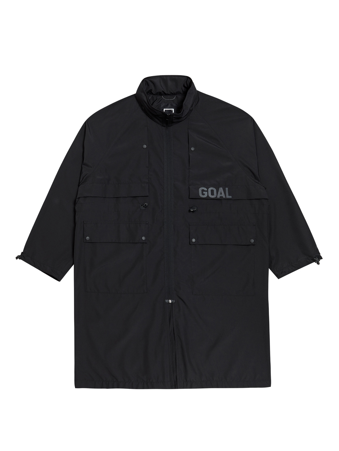 GOALSTUDIO LTG LONG JACKET - BLACK