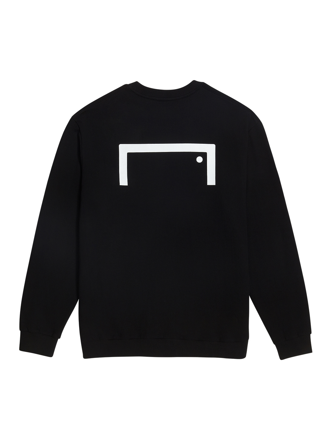 GOALSTUDIO BACK LOGO SWEATSHIRT - BLACK