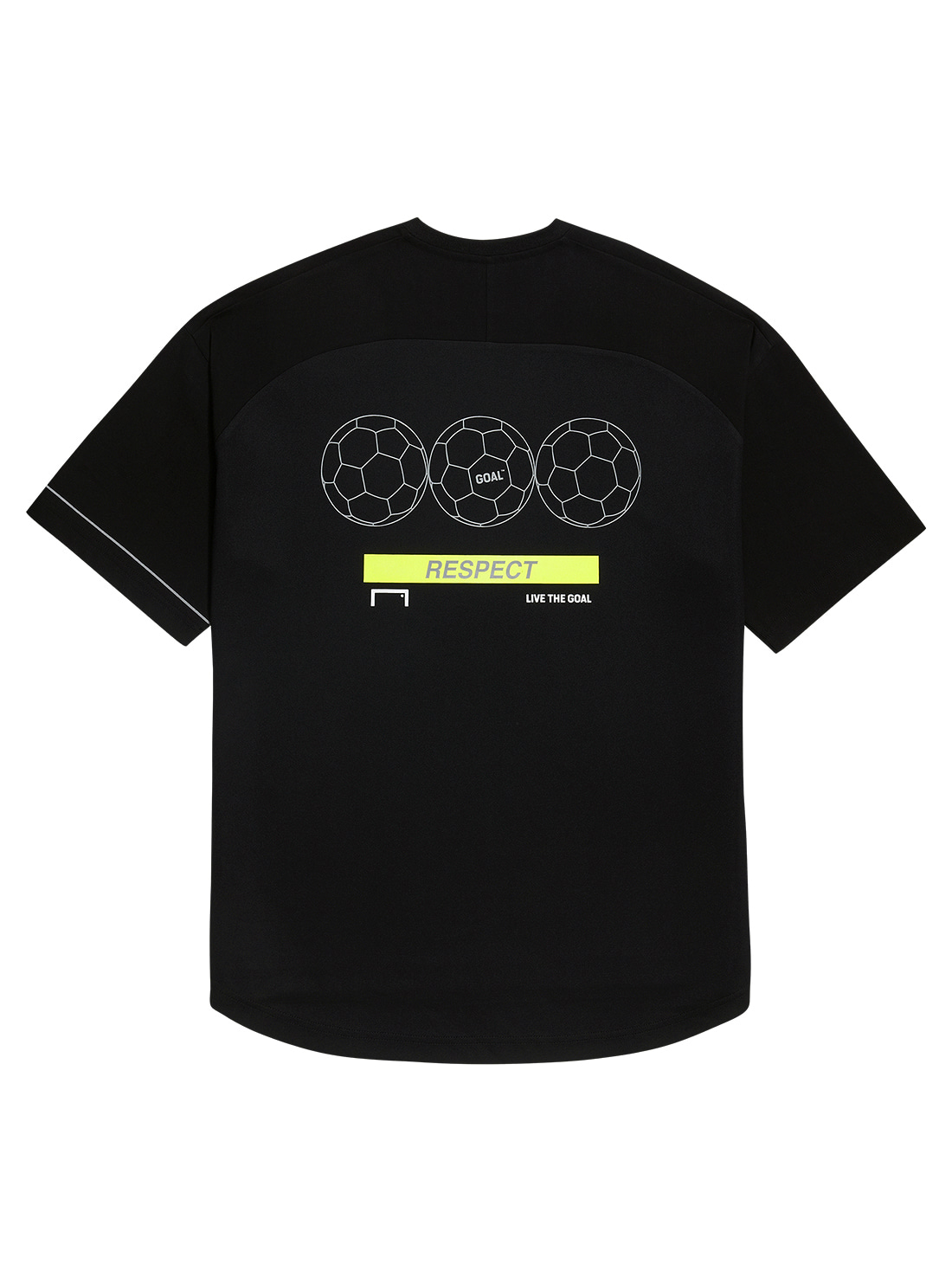 GOALSTUDIO RESPECT TEE - BLACK