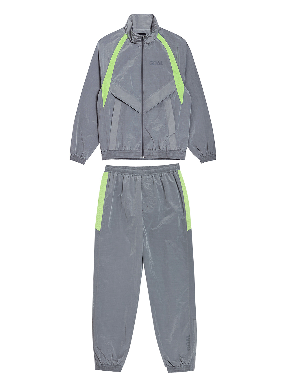 GOALSTUDIO [10% OFF] WARMUP JACKET & PANTS SET - GREY