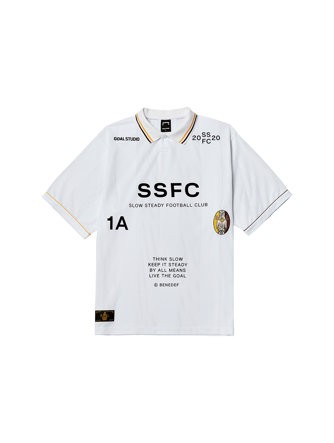 GOALSTUDIO SSFC UNIFORM SHORT SLEEVE - WHITE(A)