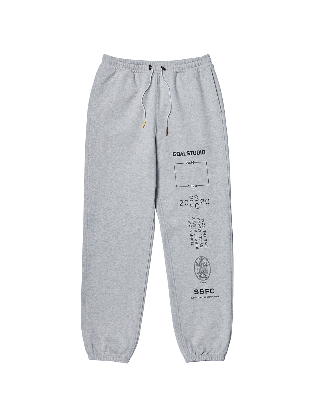 GOALSTUDIO (M,L) SSFC JERSEY PANTS - GREY