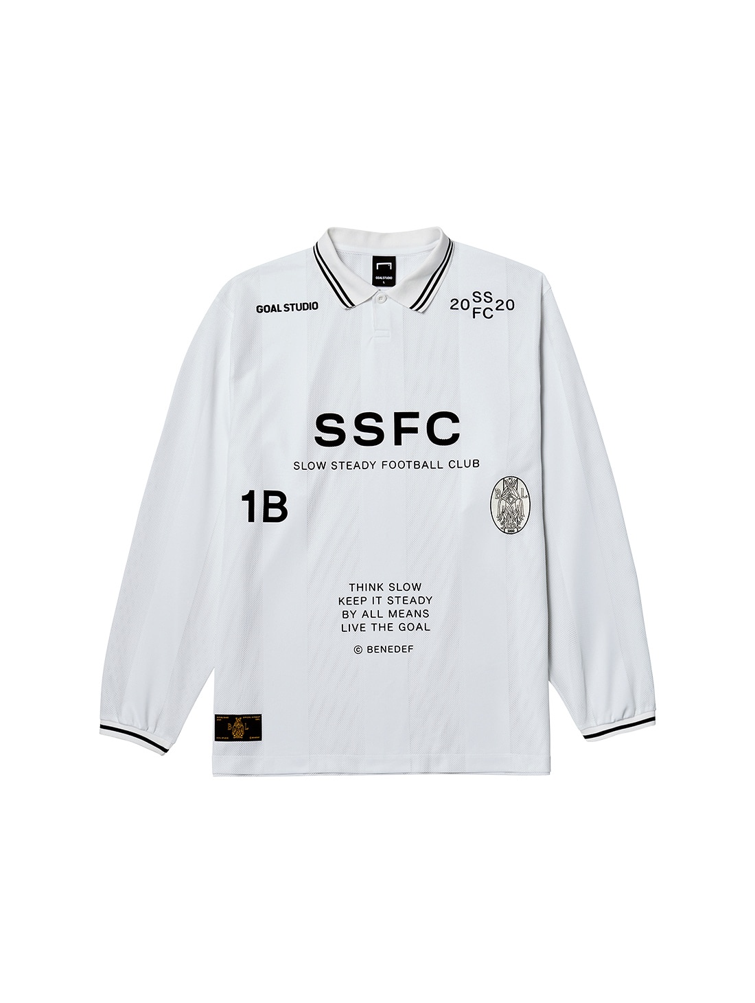 GOALSTUDIO SSFC UNIFORM LONG SLEEVE - BLACK(B)