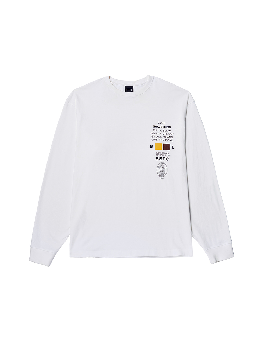 GOALSTUDIO SSFC JERSEY SINGLE LONG SLEEVE - WHITE