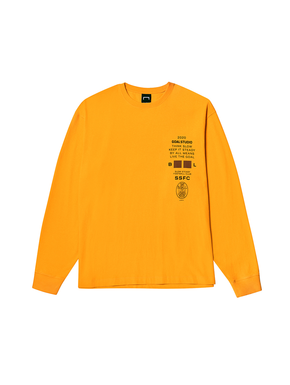 GOALSTUDIO SSFC JERSEY SINGLE LONG SLEEVE - YELLOW