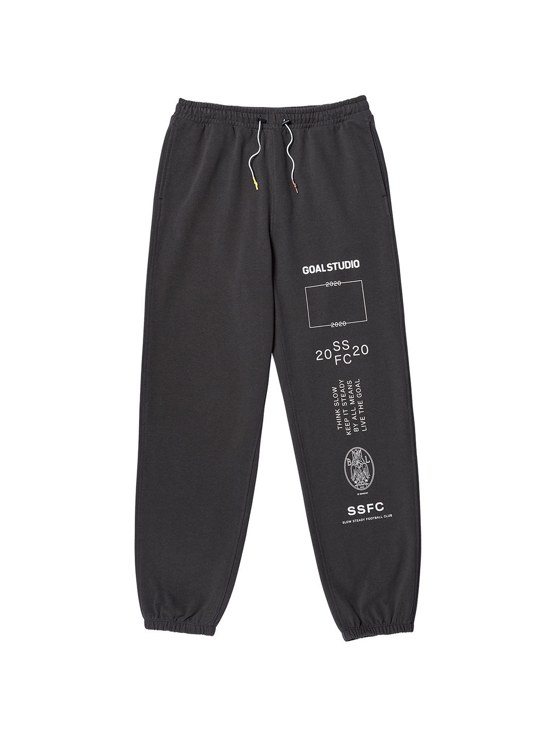 GOALSTUDIO SSFC JERSEY PANTS - CHARCOAL