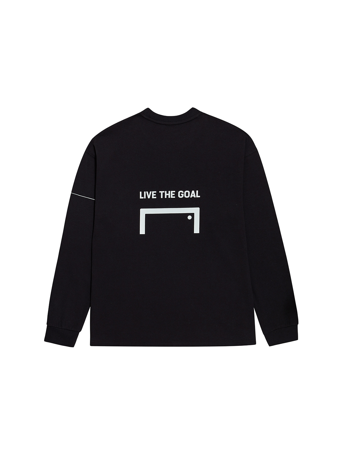 GOALSTUDIO LTG LONG SLEEVE TEE - BLACK