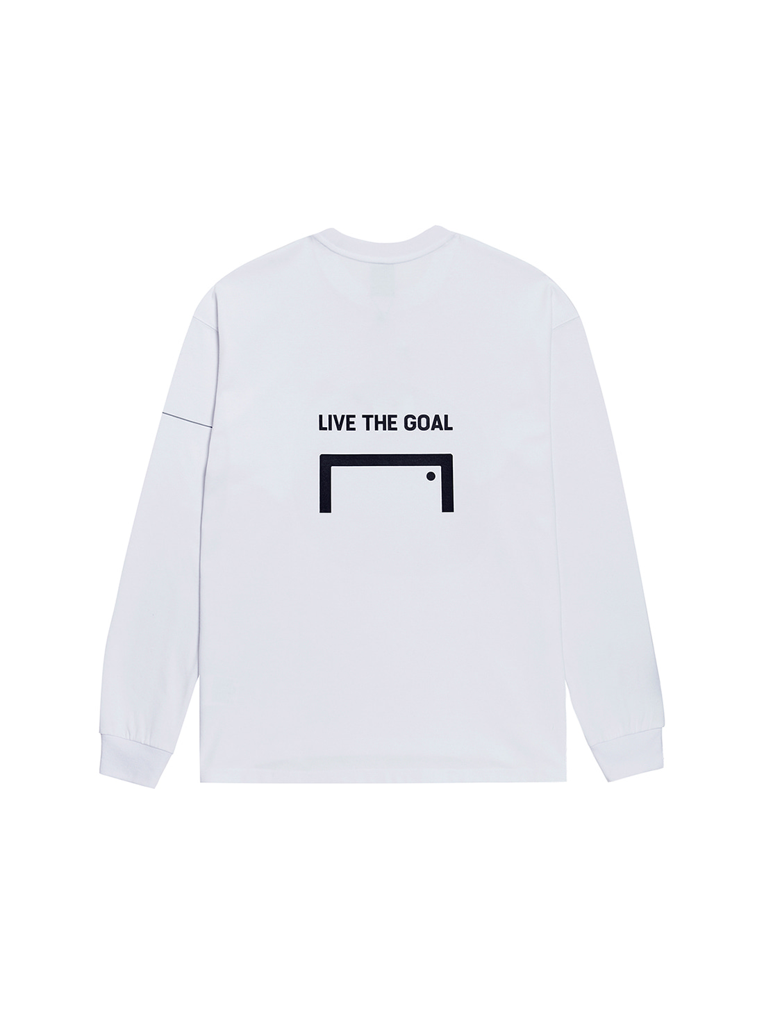 GOALSTUDIO LTG LONG SLEEVE TEE - WHITE