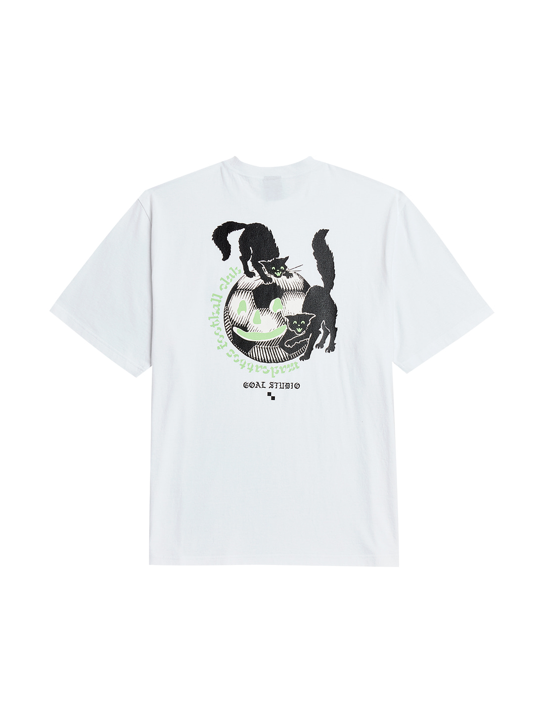 GOALSTUDIO MC BALL GRAPHIC TEE - WHITE