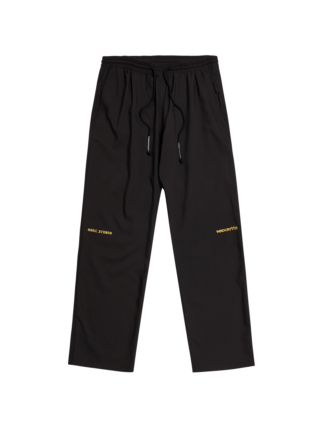 GOALSTUDIO MC WOVEN PANTS - BLACK