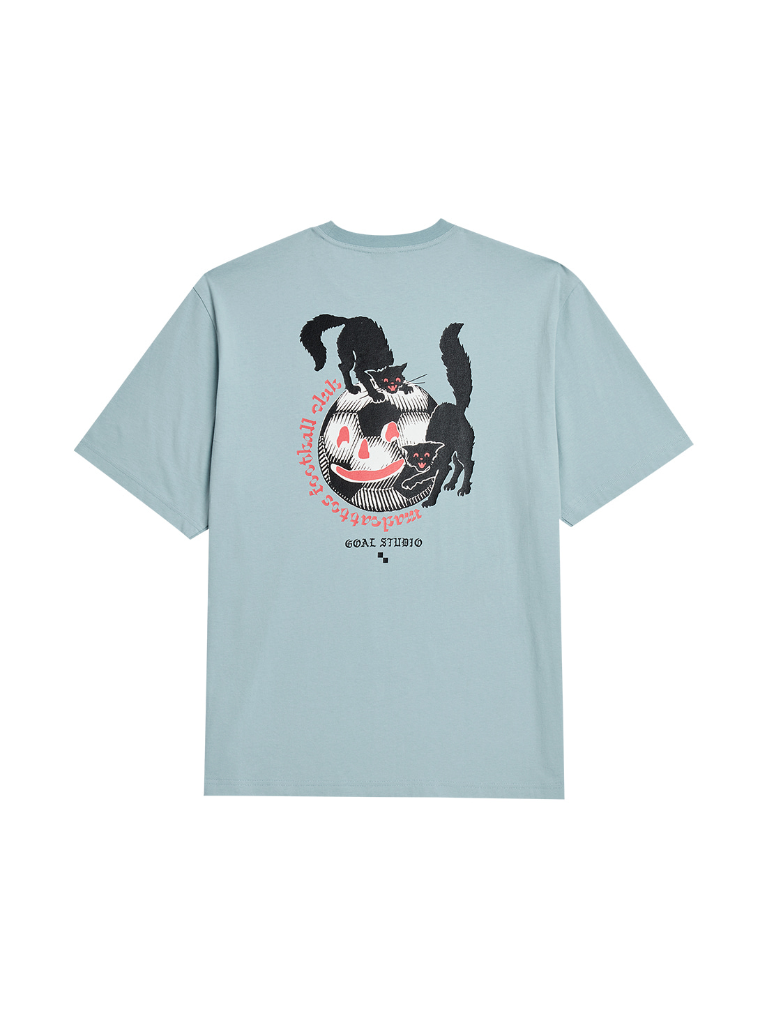 GOALSTUDIO MC BALL GRAPHIC TEE - LIGHT BLUE