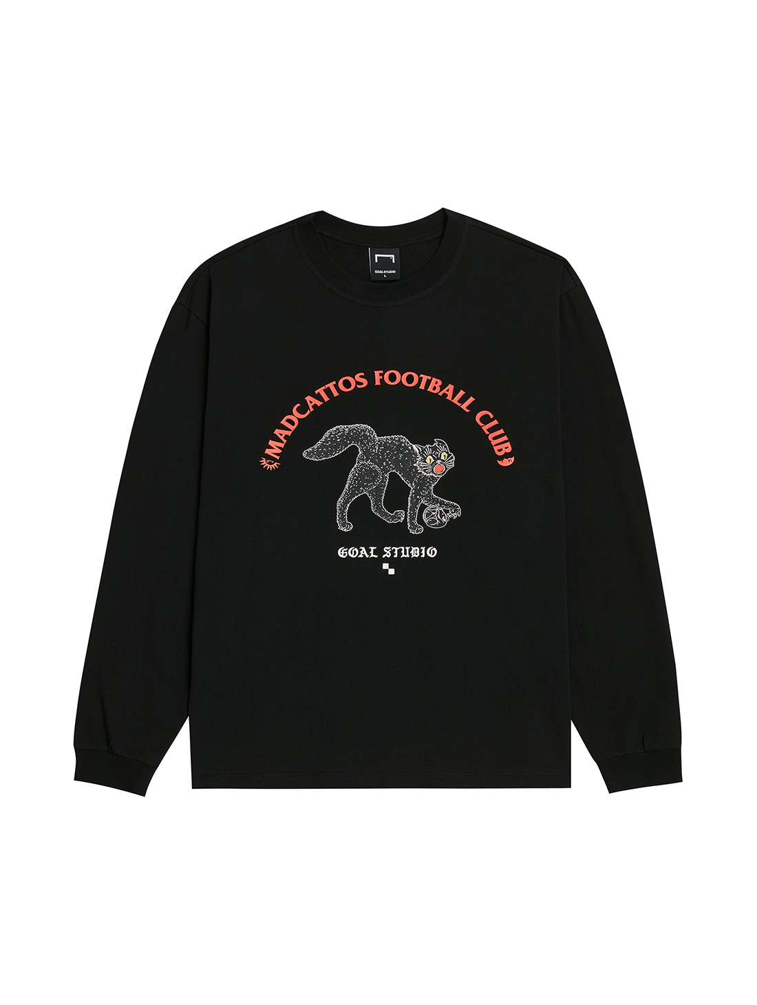 GOALSTUDIO MC GRAPHIC LONG SLEEVE TEE - BLACK