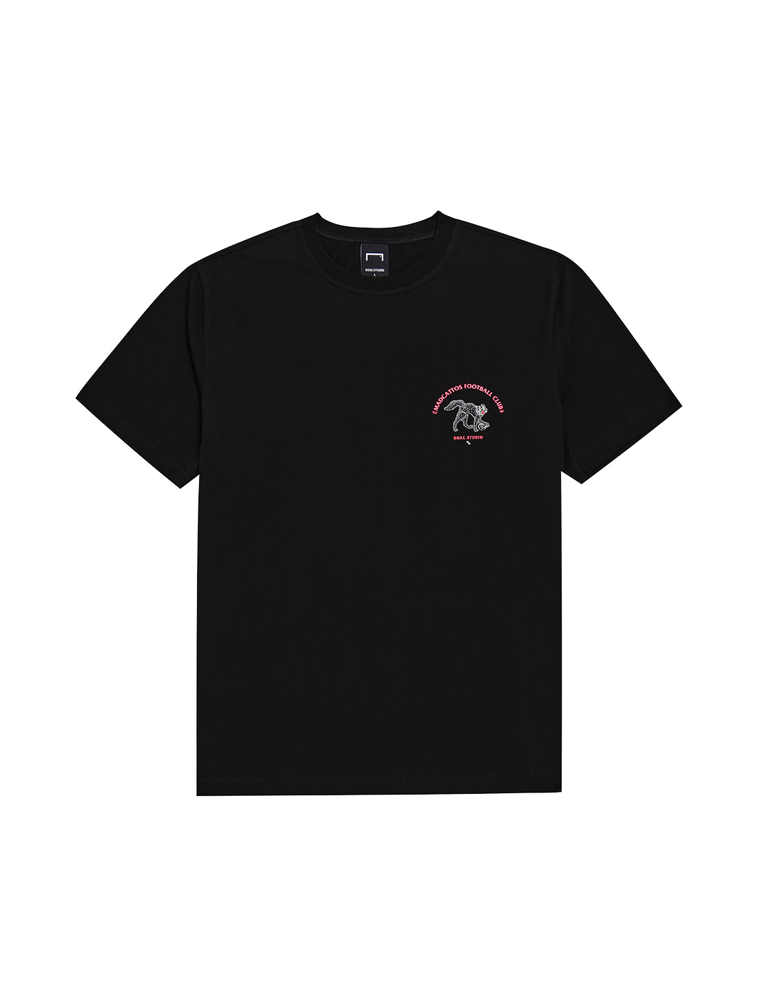GOALSTUDIO MC SMALL FRONT GRAPHIC TEE - BLACK