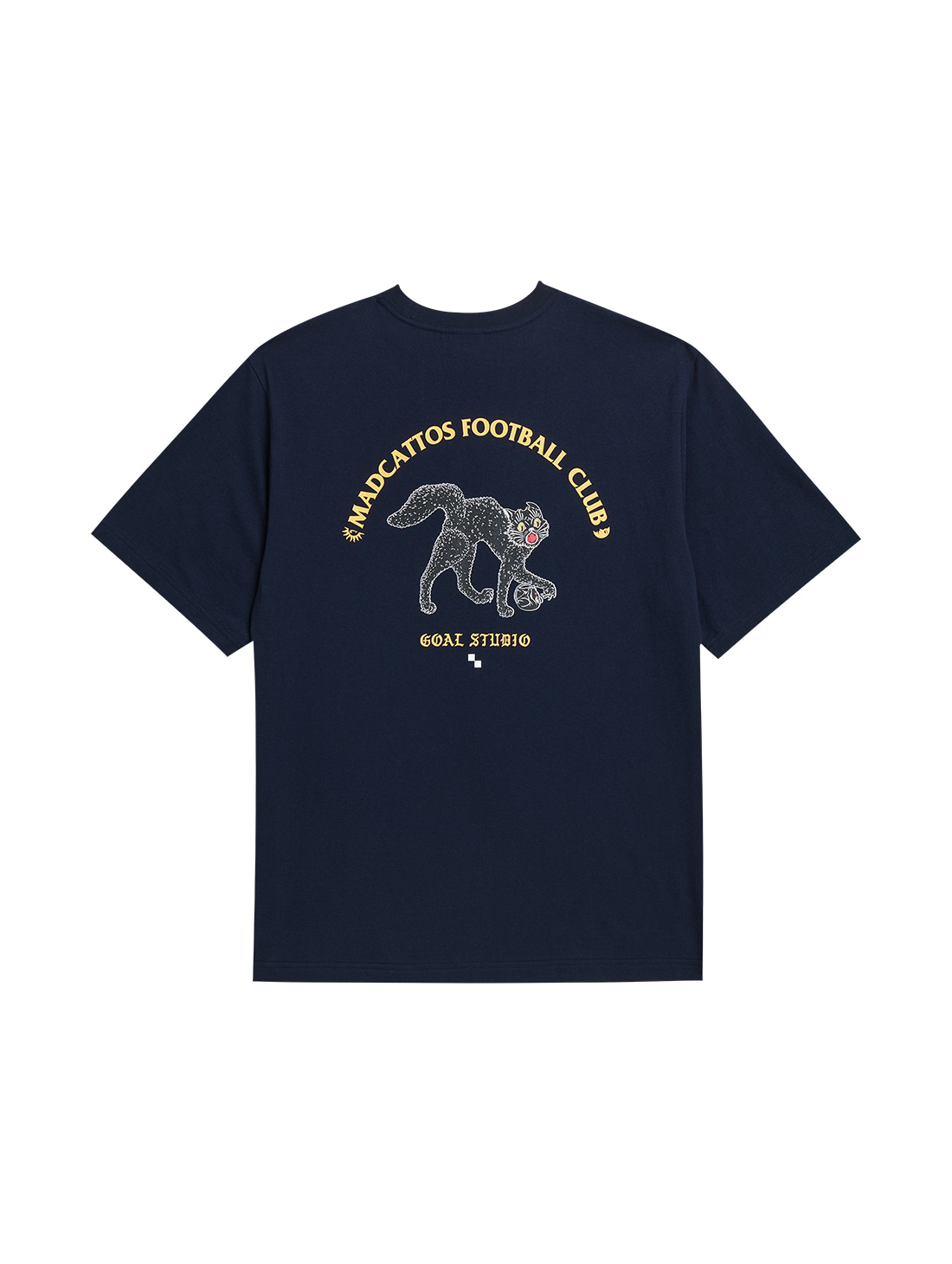 GOALSTUDIO MC GRAPHIC TEE - NAVY