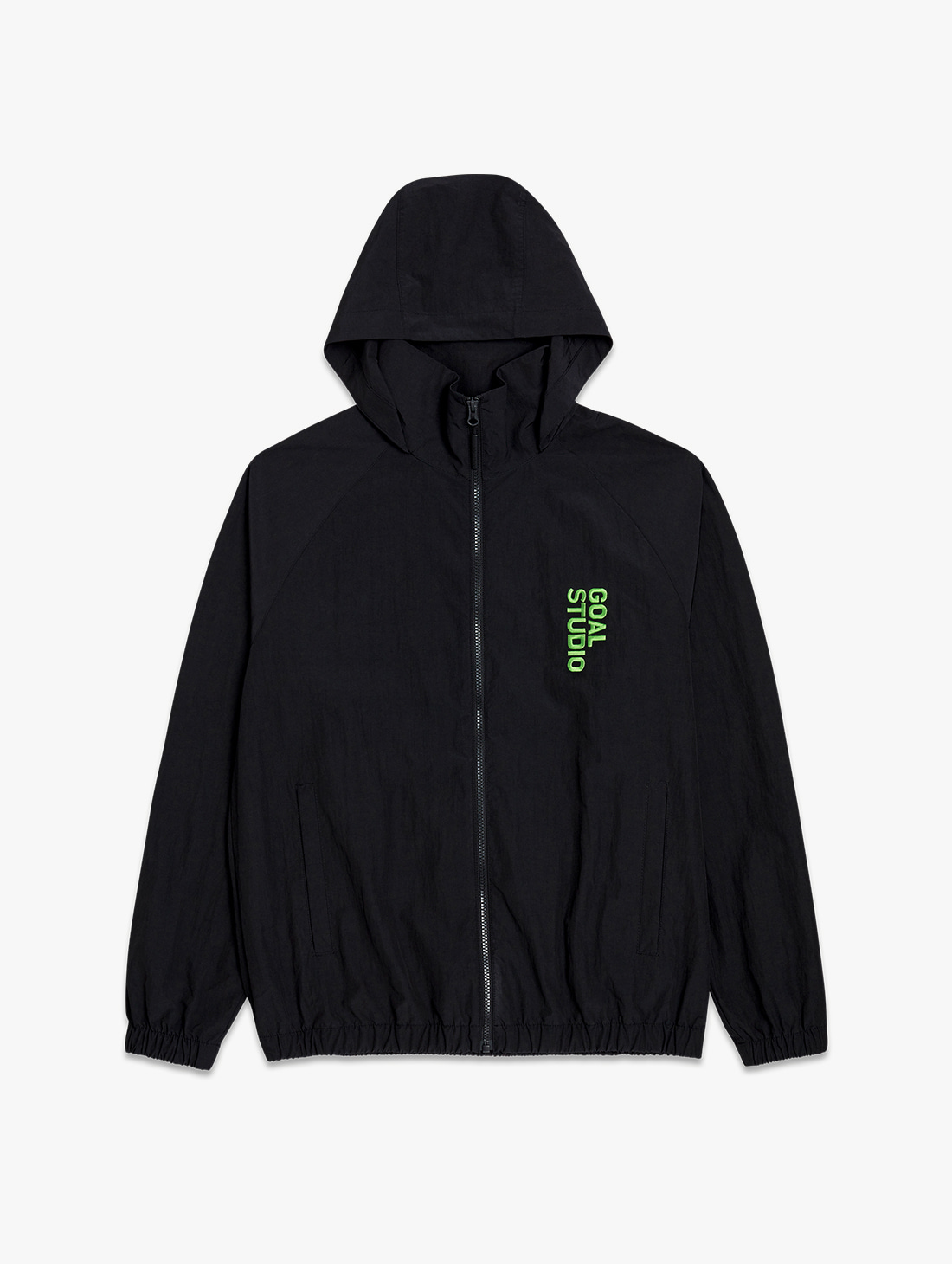 GOALSTUDIO NYLON BLEND WIND BREAKER (2 Colors)