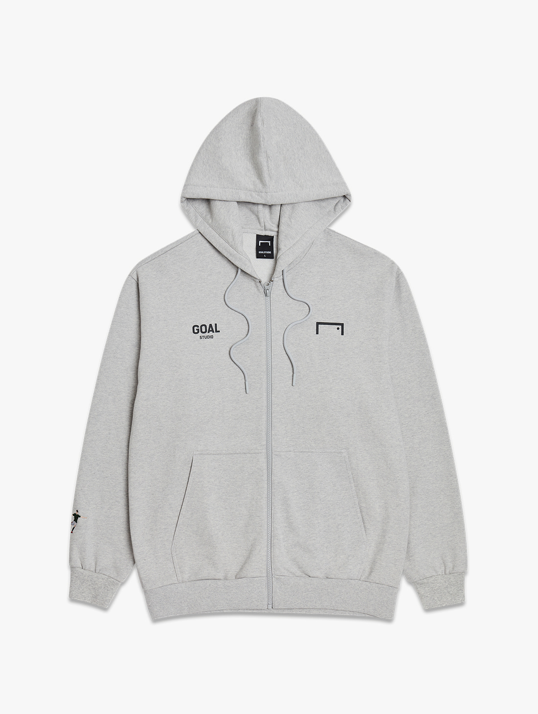 GOALSTUDIO SIGNATURE ZIP UP HOODIE (3 Colors)