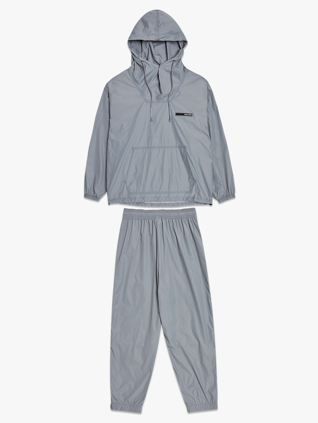GOALSTUDIO [10% OFF] OVERSIZED ANORAK JACKET&VENTILATED WARMUP PANTS SET