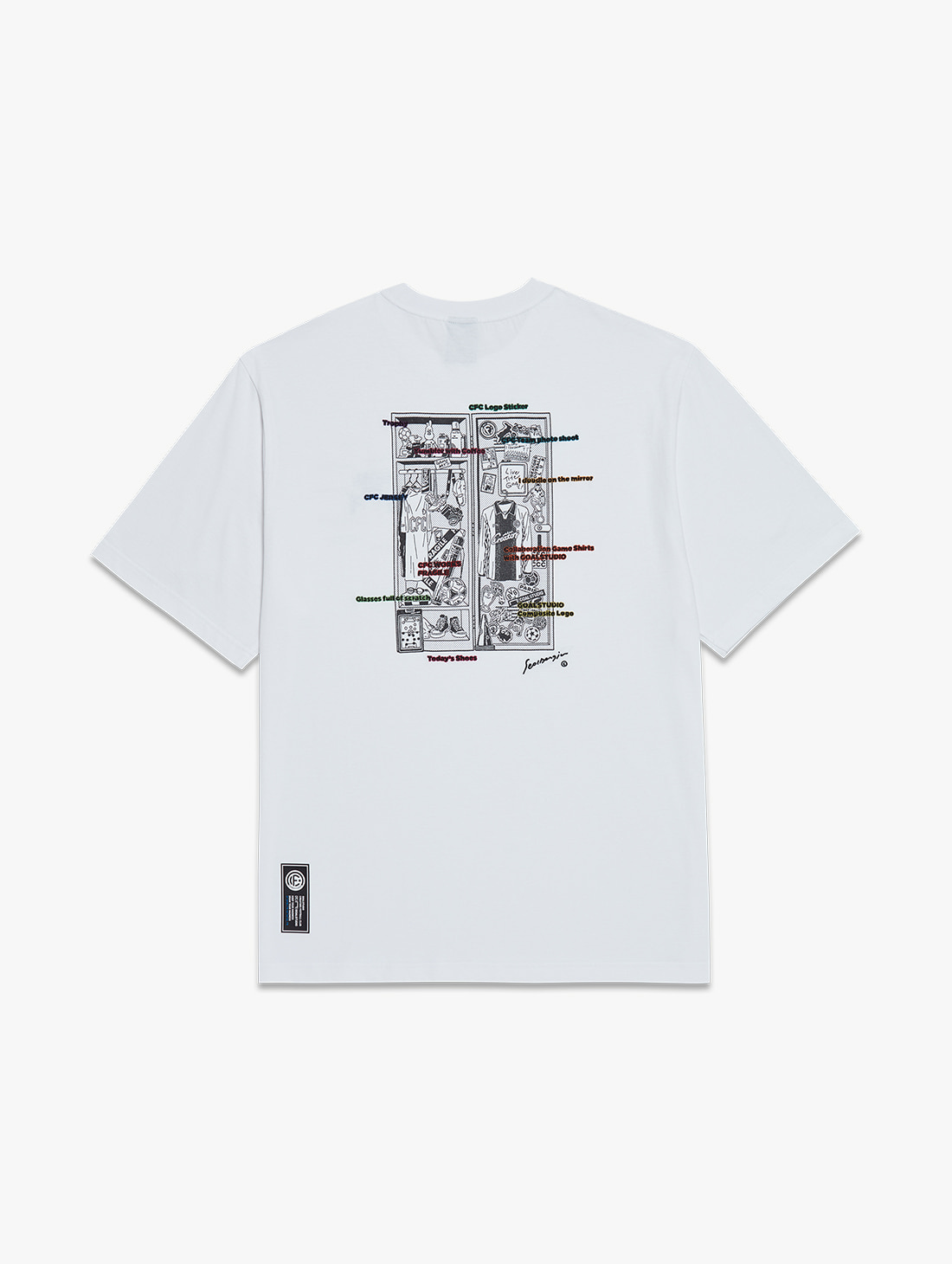 GOALSTUDIO CFC LOCKER ROOM TEE (2 Colors)