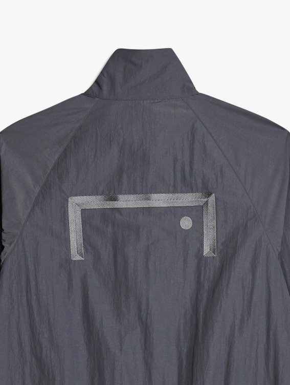GOALSTUDIO LOGO EMBRODERY JACKET - GREY