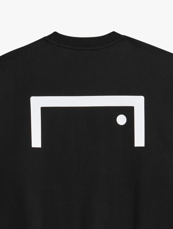 GOALSTUDIO SIGNATURE LOGO SWEATSHIRT - BLACK