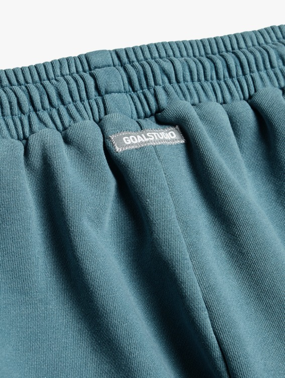 GOALSTUDIO PIGMENT DYE JOGGER PANTS - BLUE